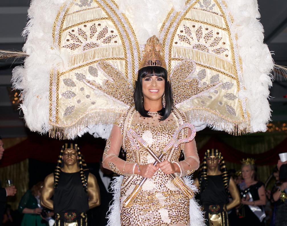 """9995af56c0c Queen Cleopatra XLIV – Abigail Breland """"Viva Cleopatra s Las Vegas"""