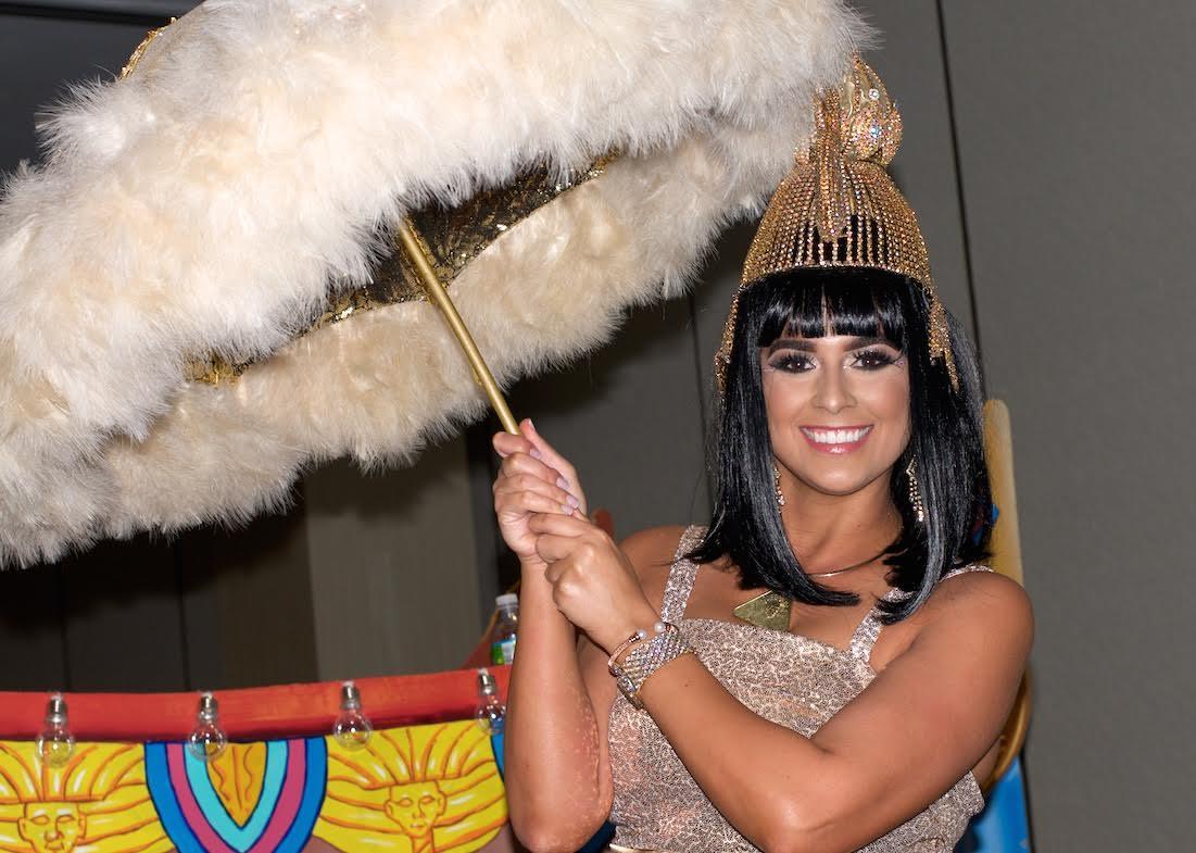 Queen Cleopatra 44 Mardi Gras 2017 2