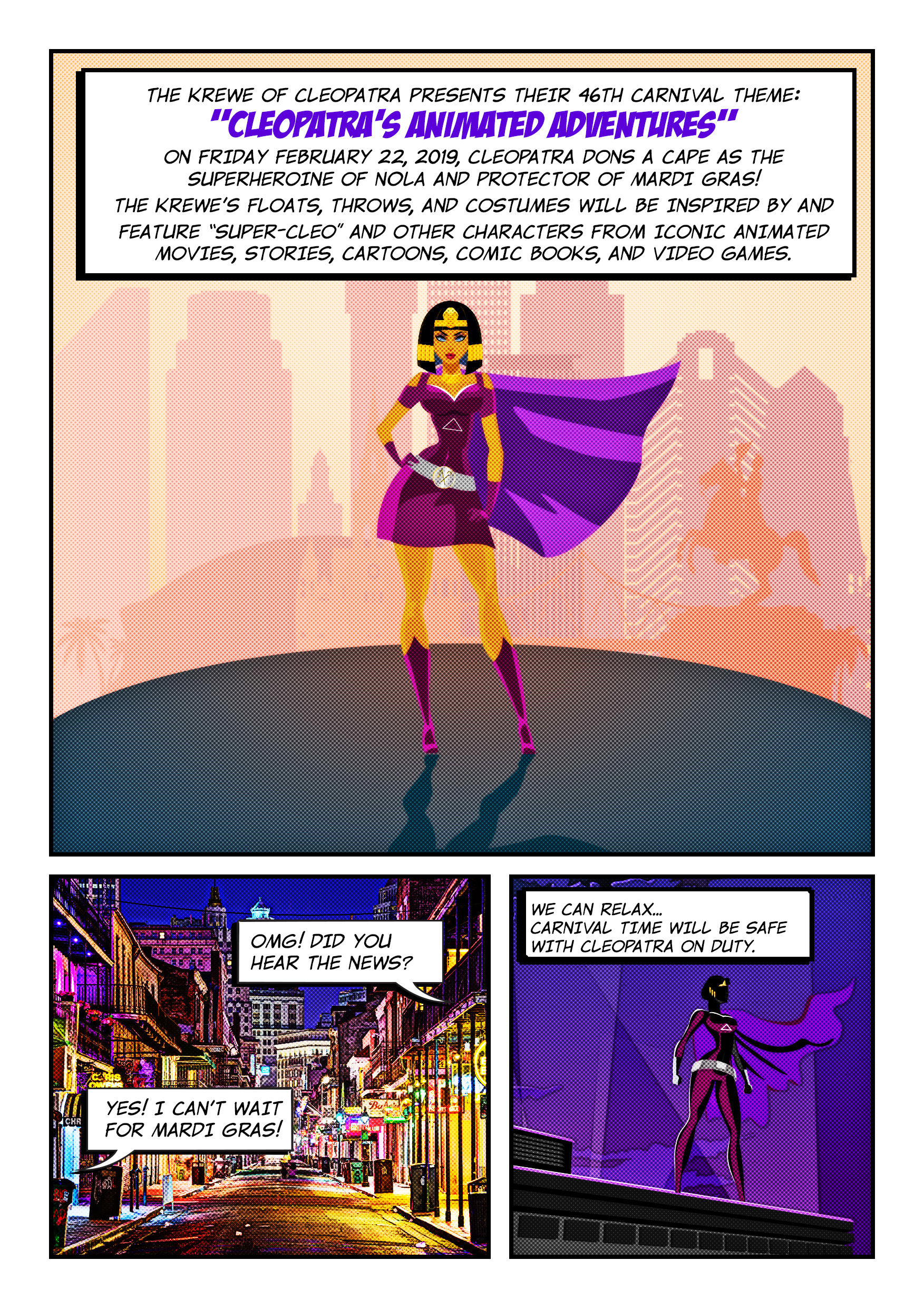 Cleopatra animated Adventure Comic1 page 2
