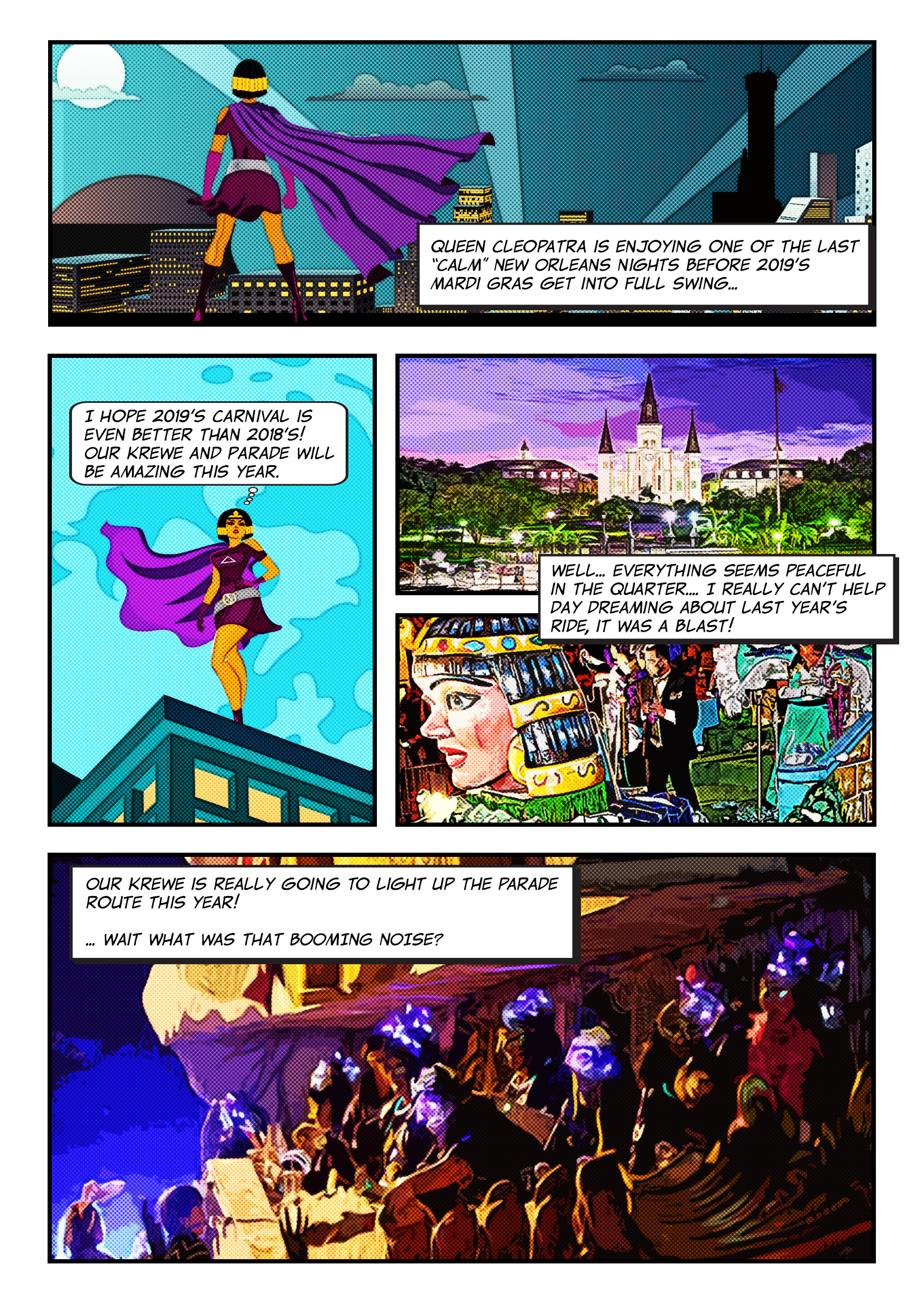 Cleopatra animated Adventure Comic1 page 3
