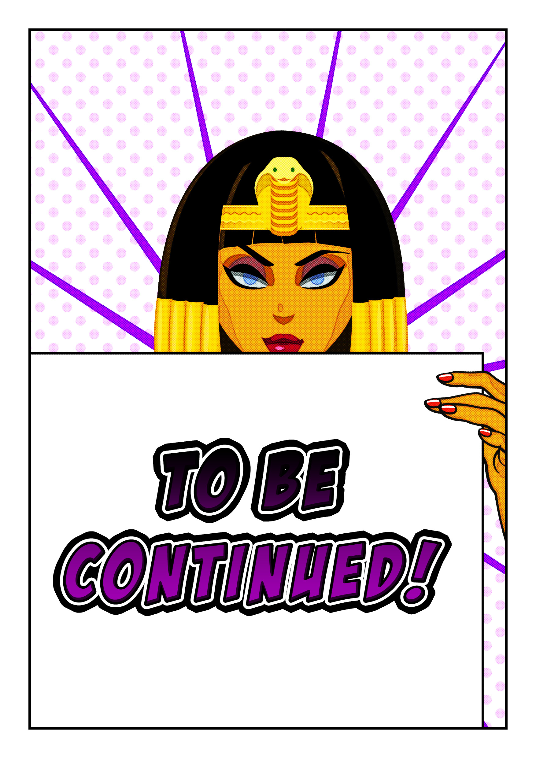 Cleopatra animated Adventure Comic1 page 6