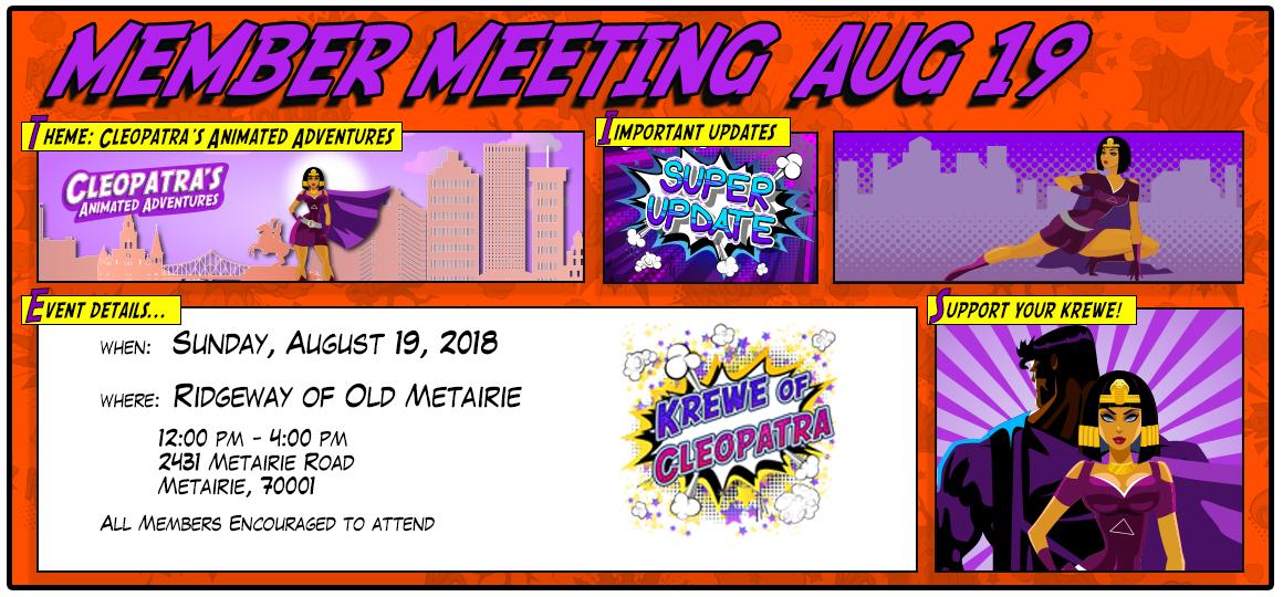member meeting 2018