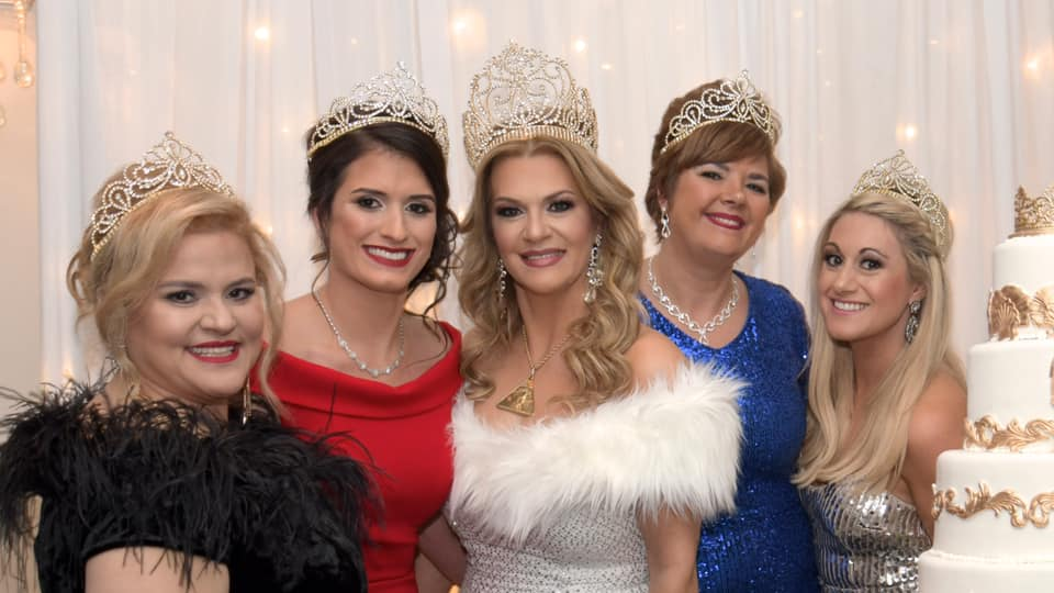 Krewe of Cleopatra Court 2019