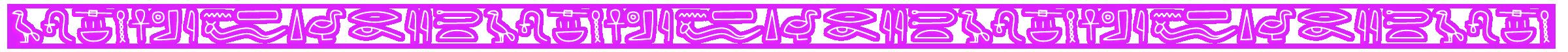 Egyptian Symbolsneon